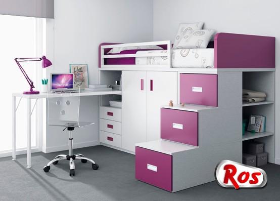 Nuevos dormitorios juveniles de ros ideas decoraci n ig for Muebles ros precios