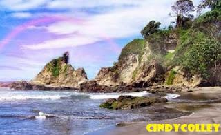 Keindahan pantai karang nini di balik legendanya yang terkenal !!!