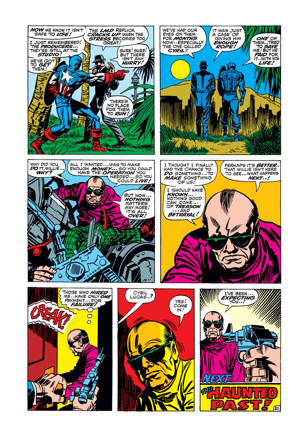 Captain America (1968) Issue #106 #20 - English 21