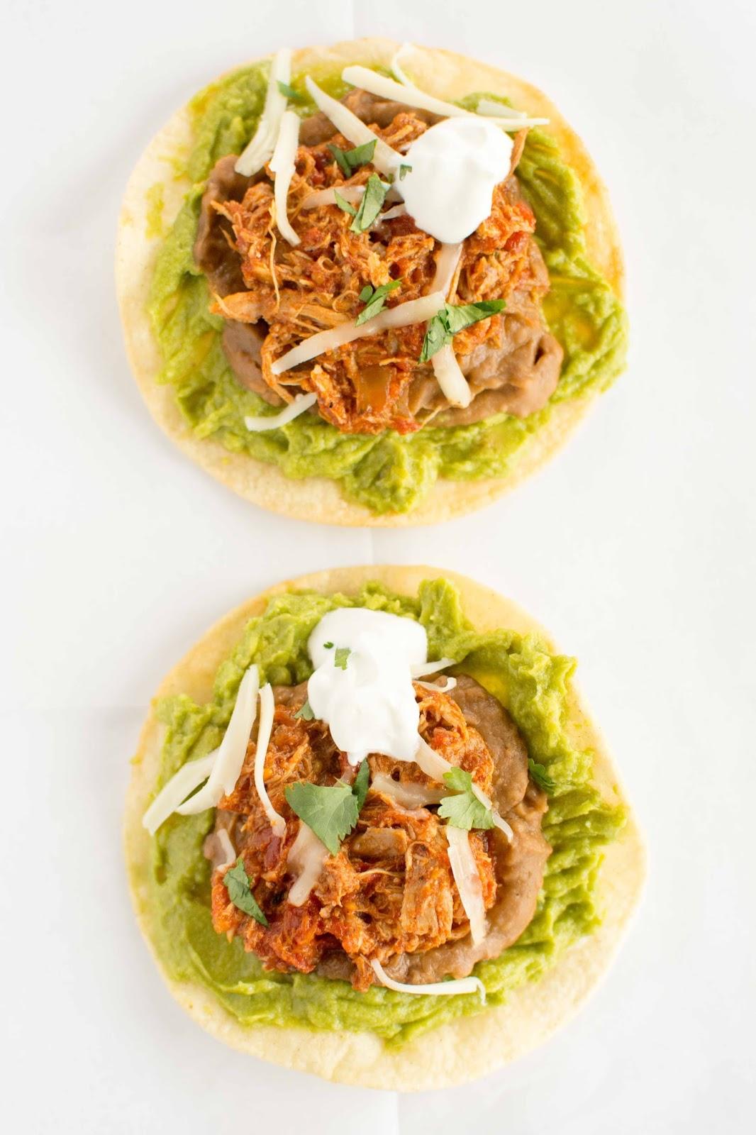how to make tostadas at home