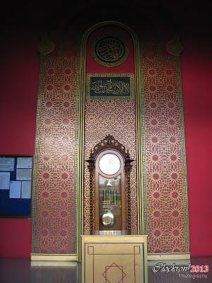 Ornamen Pintu Utama Masjid Cheng Ho