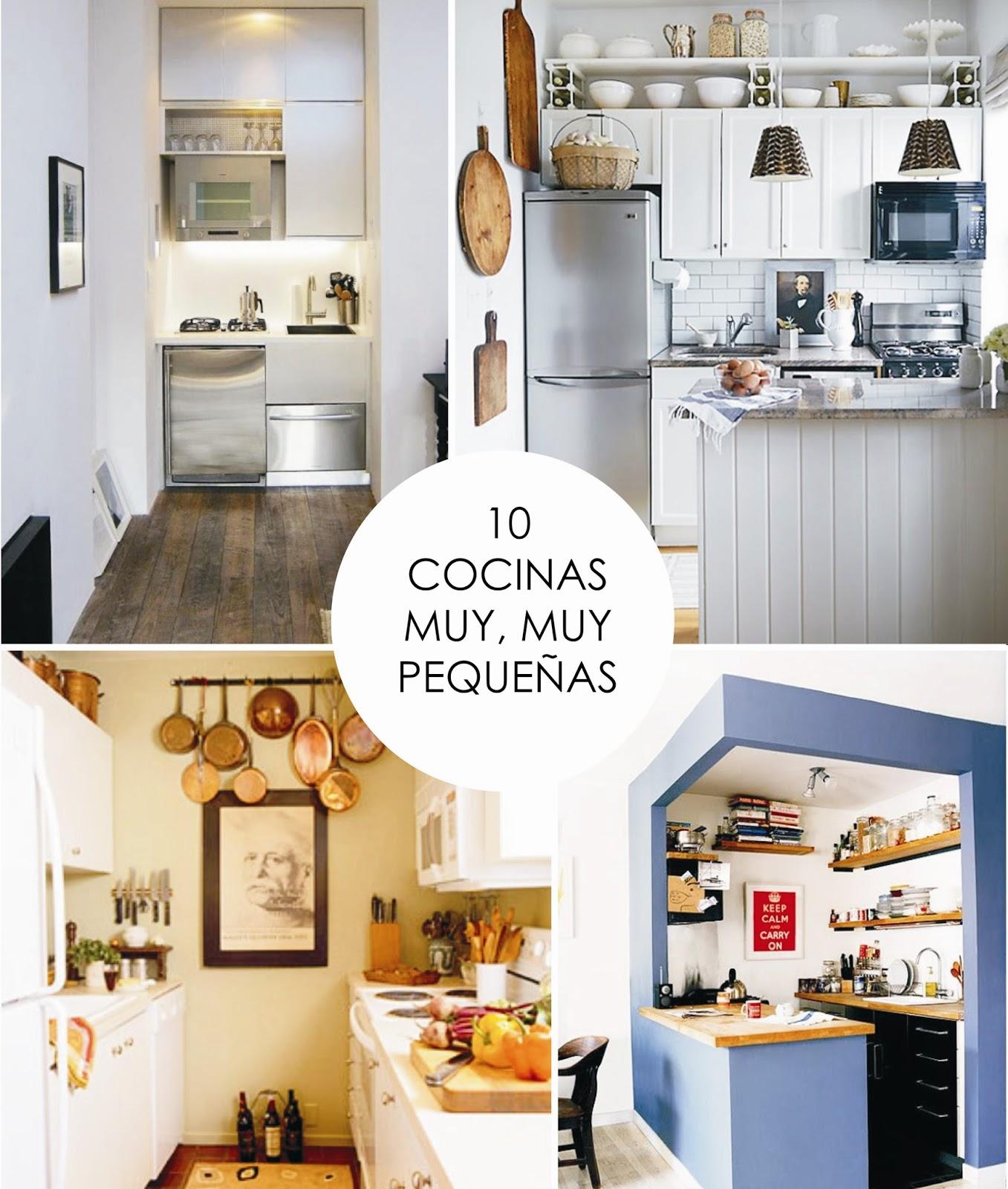 Y un poco de dise o 10 cocinas muy muy peque as for Cocinas muy pequenas y alargadas