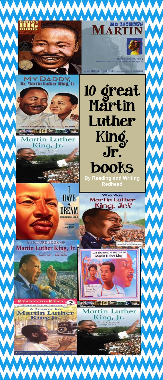 Reading And Writing Redhead Martin Luther King Jr Day Children S