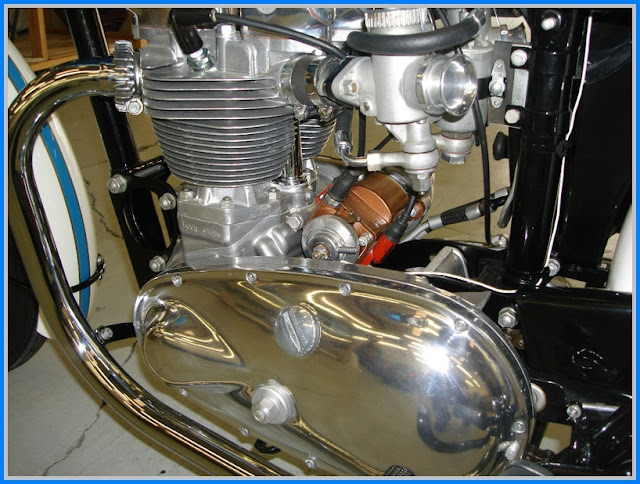 the all alloy 500 pre unit triumphs 1957 triumph tiger 100 rs