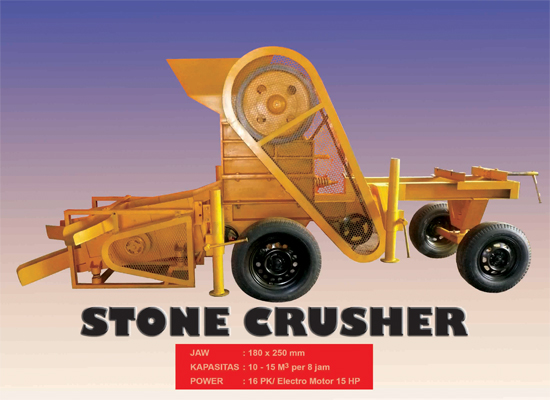 Harga Mesin Stone Crusher atau Mesin Pemecah Batu
