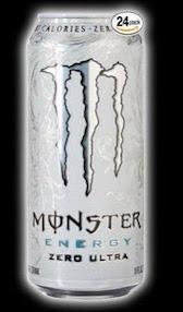 Monster Energy Drink, Zero Ultra, 16 Ounce (Pack of 24)