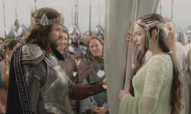 Aragorn and arwen wedding