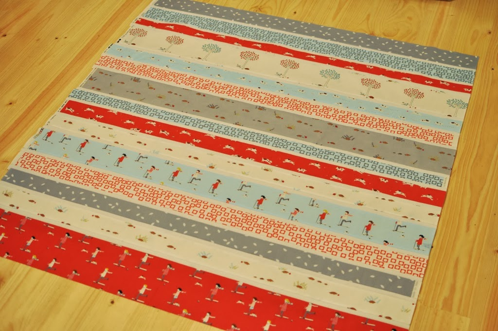 Kate Conklin Designs Simple Strip Quilt Tutorial