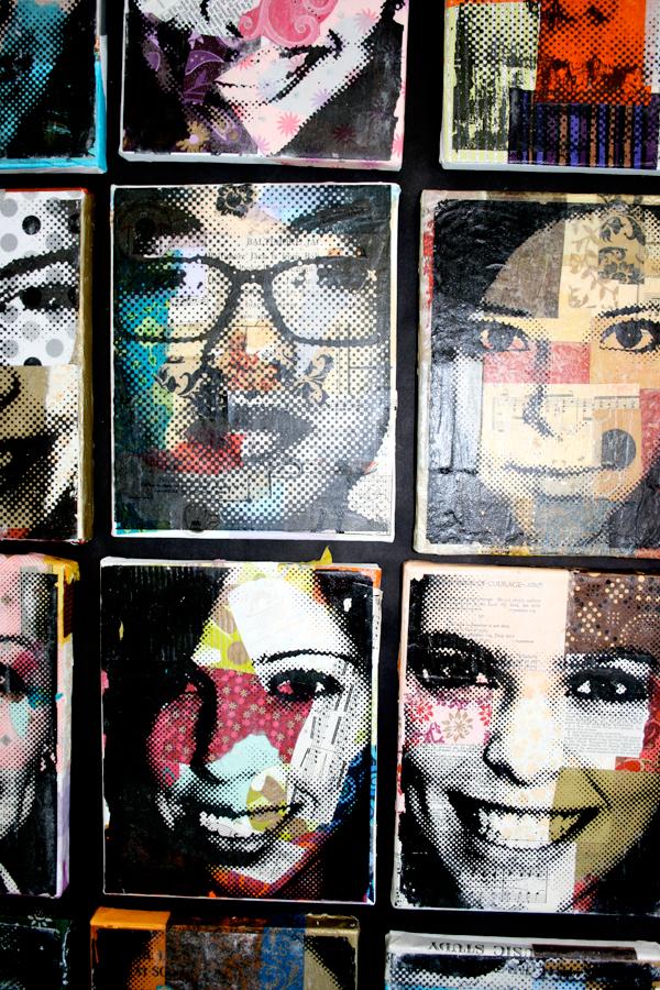 Maribleduca: Collage y Transferencia