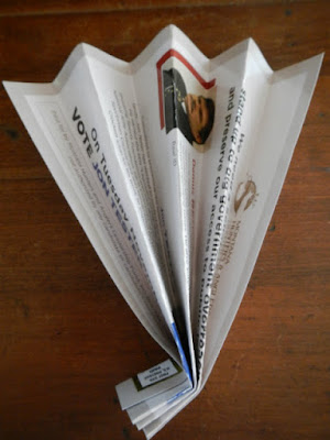 how to reuse and repurpose junk mail