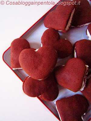 whoopie pie whoopipie red velvet meringa italiana ricetta cosa blogga in pentola cosabloggainpentola