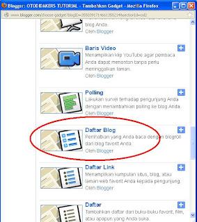 Cara Menambah Widget Di Blog
