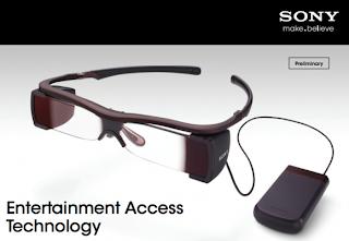 Sony siapkan Kacamata Pintar