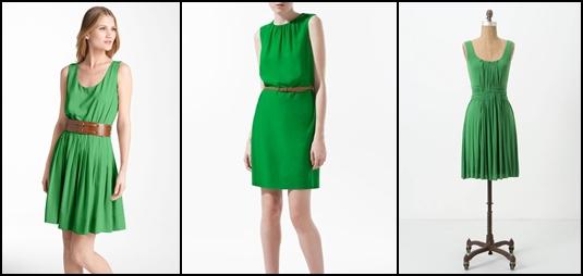 Mặc đầm xanh lá đi dự đám cưới được không?