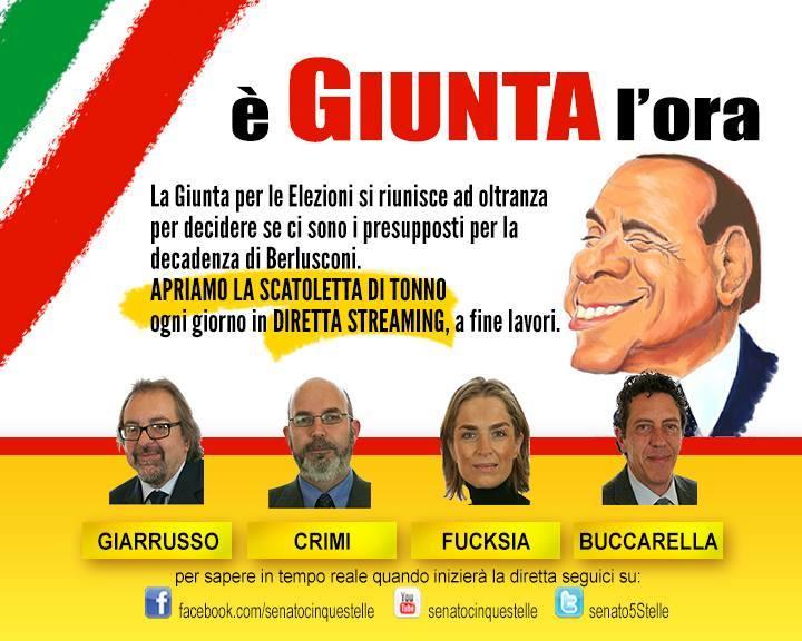 Info5stelle giunta per elezioni ogni giorno in diretta for Diretta streaming parlamento