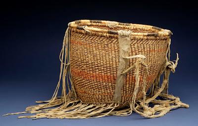 San Carlos Apache Carrying basket, c. 1925