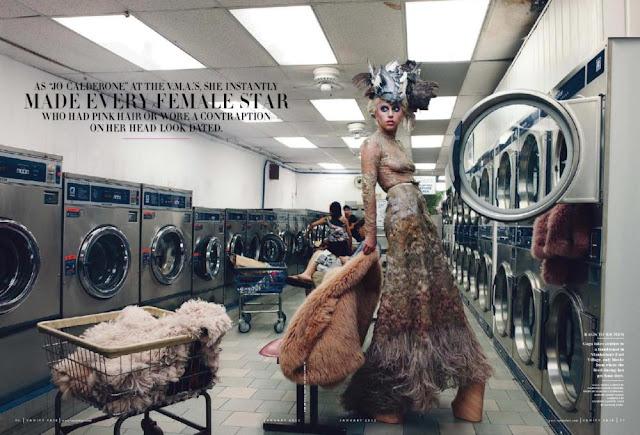 Lady Gaga: Covers Vanity Fair Magazine January 2012