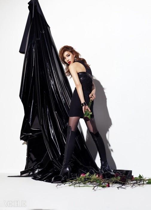 Lee Yoo Ri Vogue Magazine December Issue 2014
