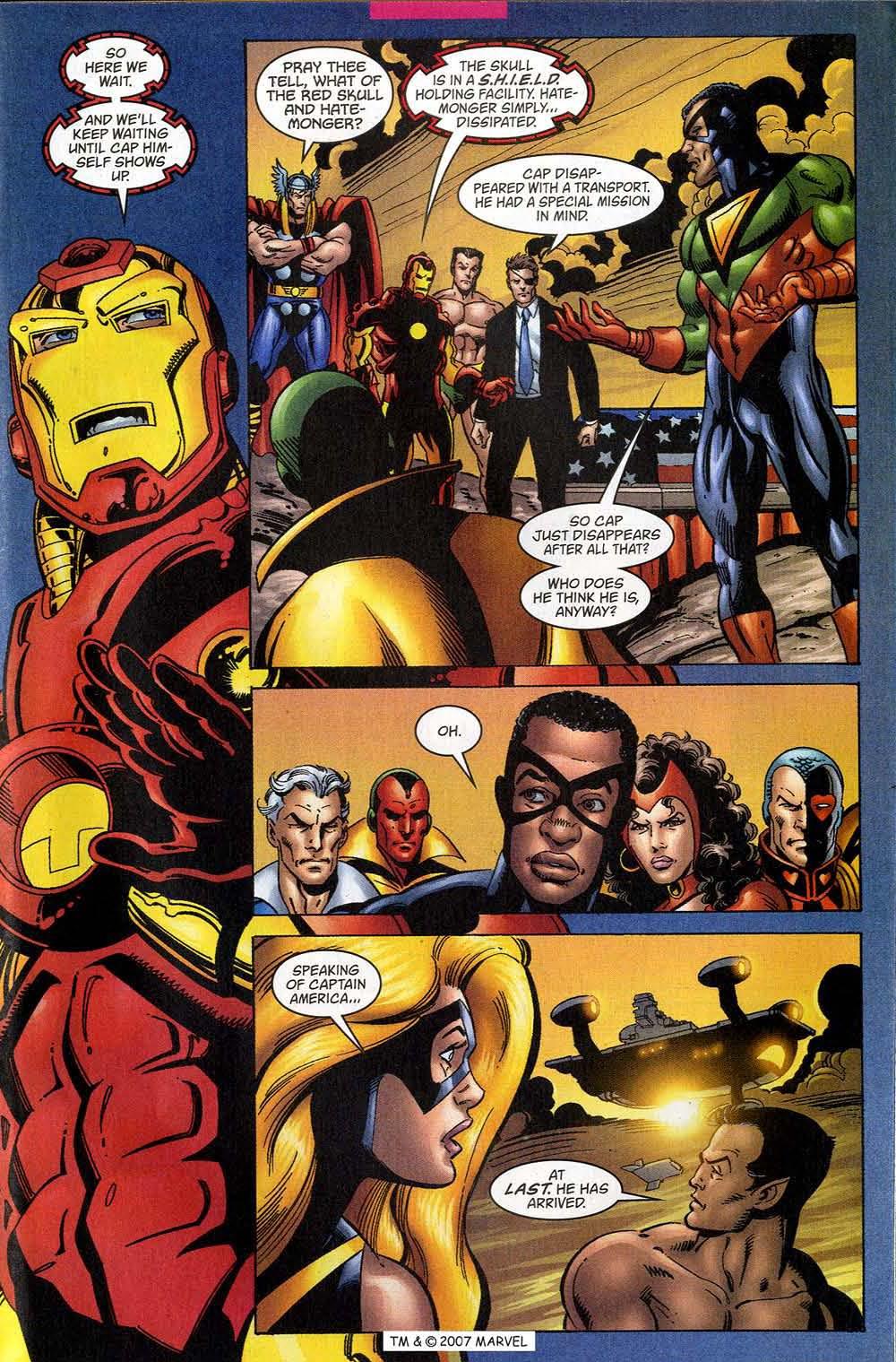 Captain America (1998) Issue #48 #55 - English 29