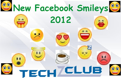 New Facebook Smileys – 2012