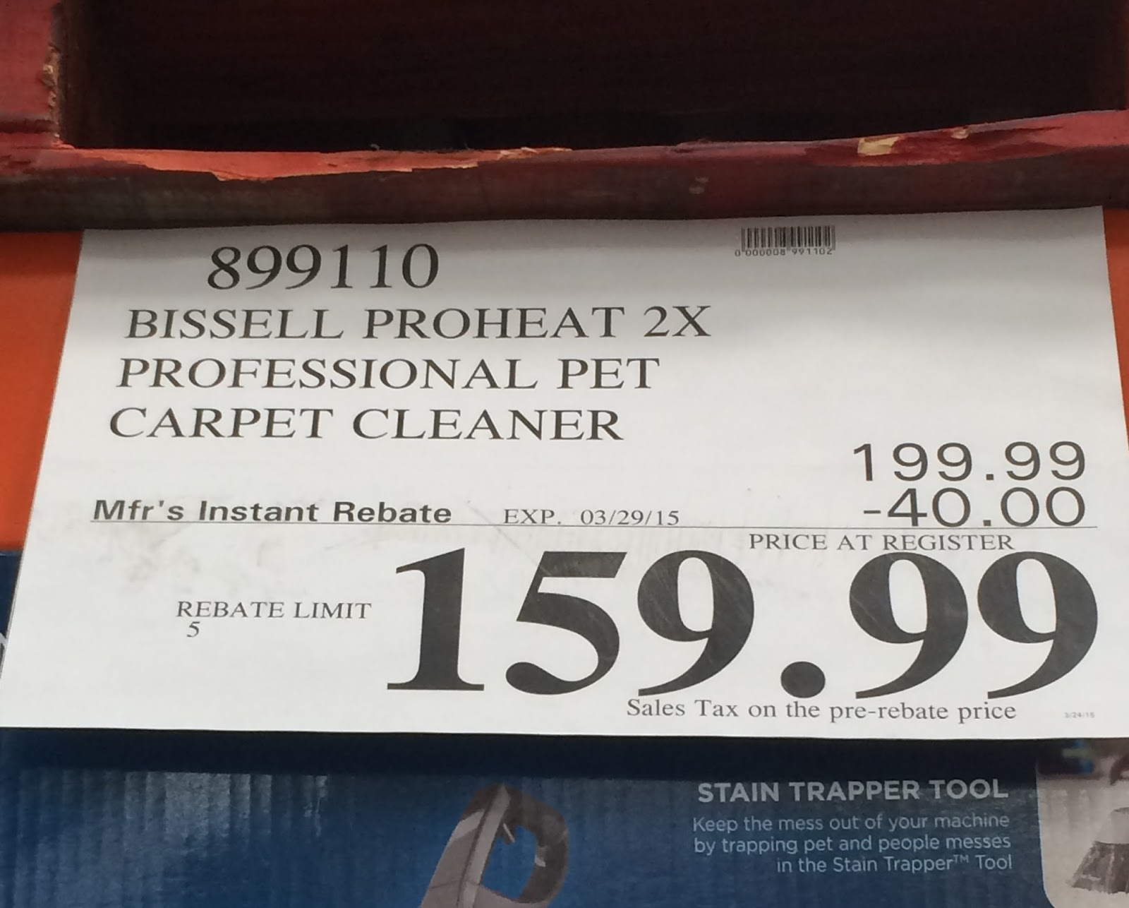 Bissell proheat 2x coupons