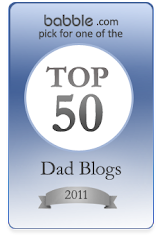 Gaddy Daddy is the #10 Dad Blog!