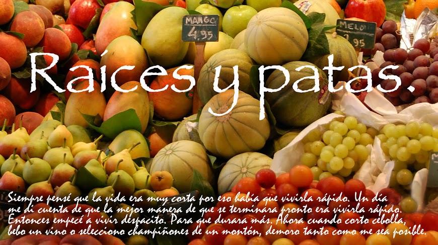 RAICES Y PATAS