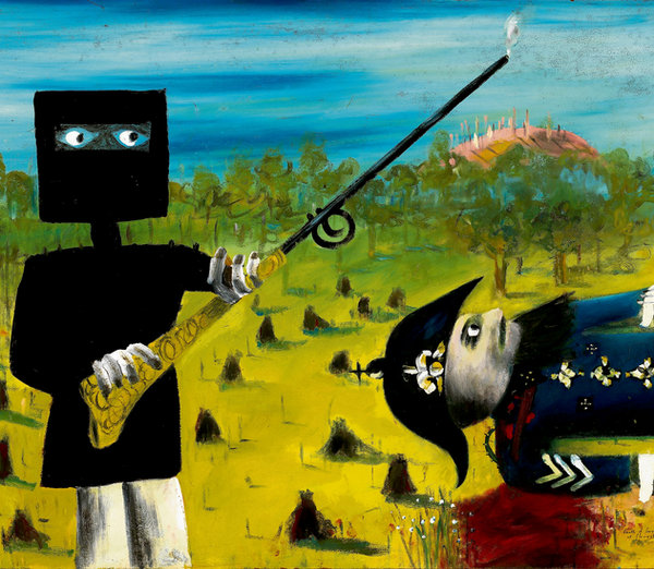 critique ned kelly and sergeant kennedy