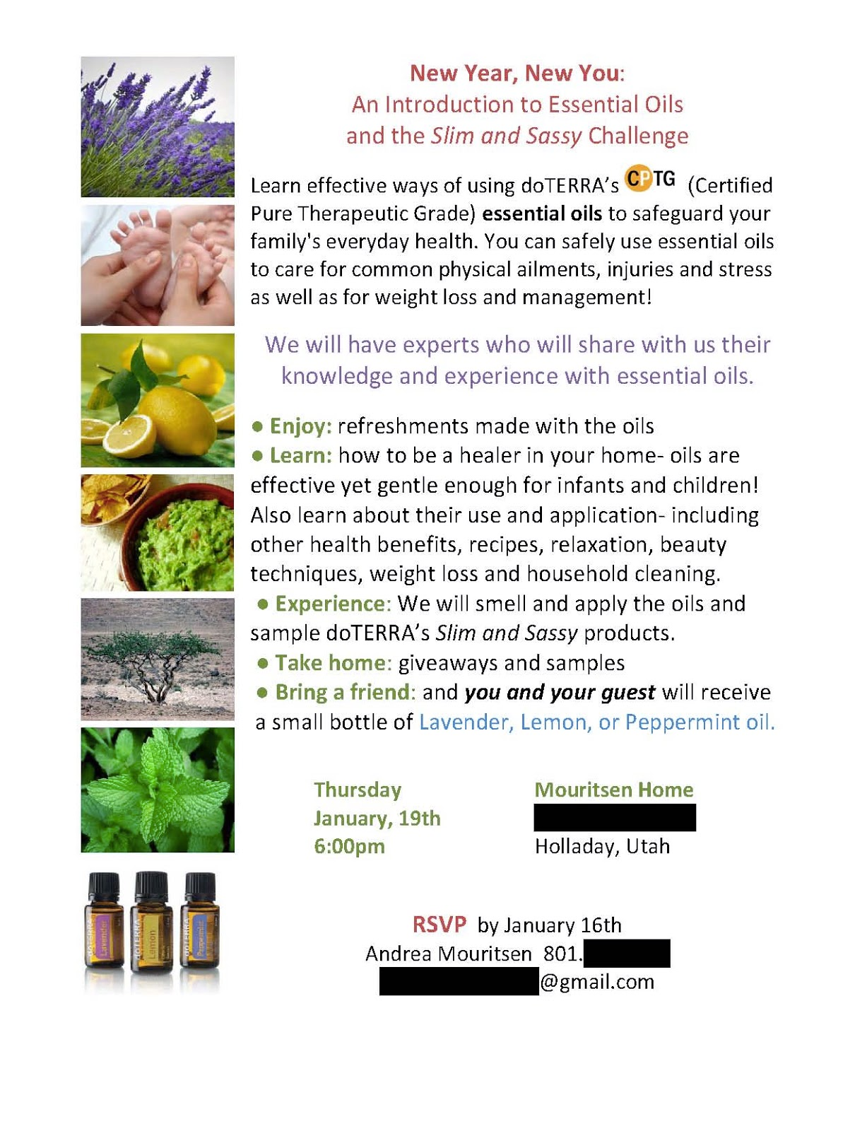 Doterra Essential Oils Class Invitation Pictures to Pin on ...