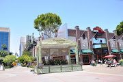 Downtown Disney, just right outside Disneyland (cali )