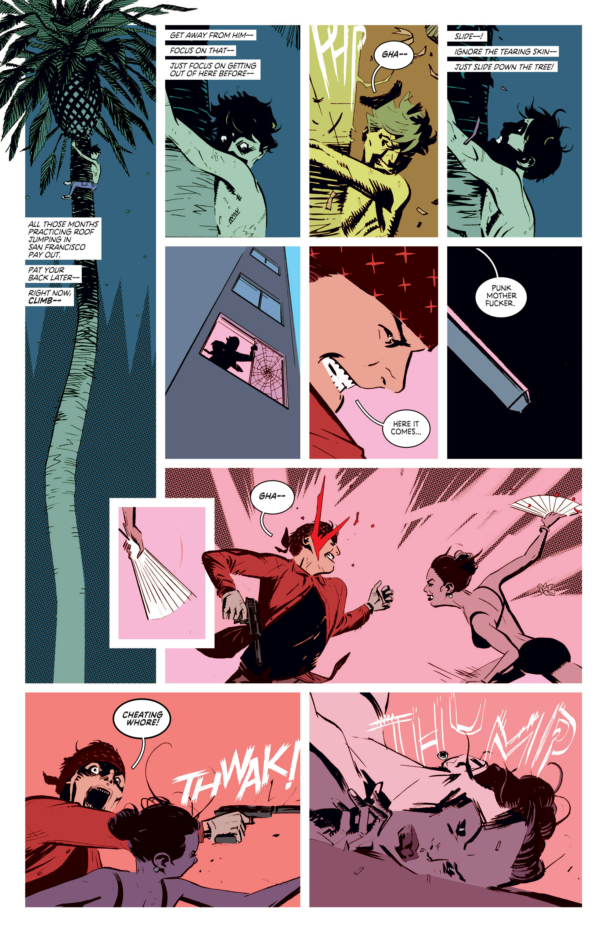 Read online Deadly Class comic -  Issue #5 - 18