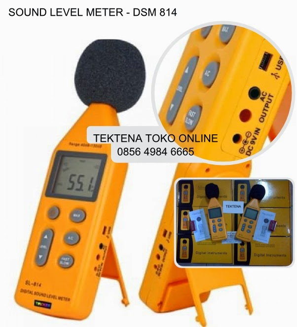 Sound Level Meter Tipe DSM 814 Ada Video Demo