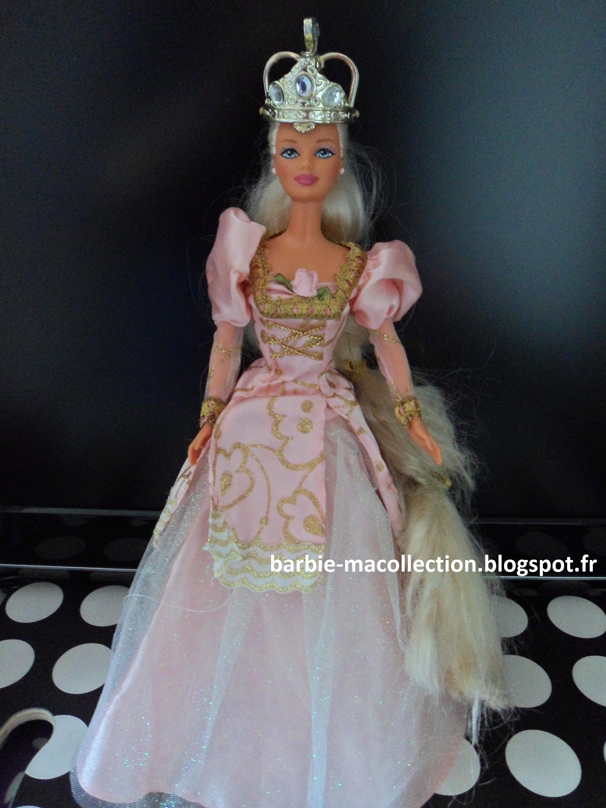 Ma collection de barbie barbie princesse raiponce 1997 - Princesse raiponce ...