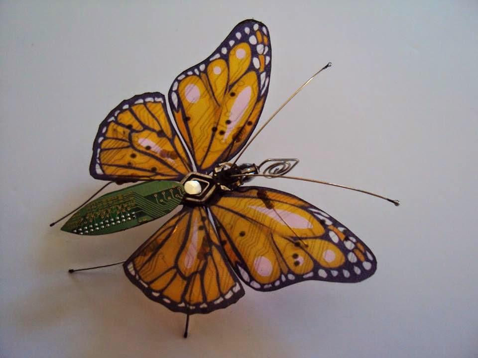 Basura electrónica para hacer insectos alados | Bienvenidos al Medio ...