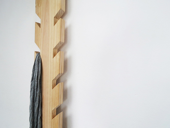 DIY modern coat rack Ohoh Blog