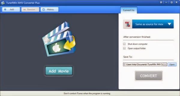 iTunes M4V Converter Plus Windows