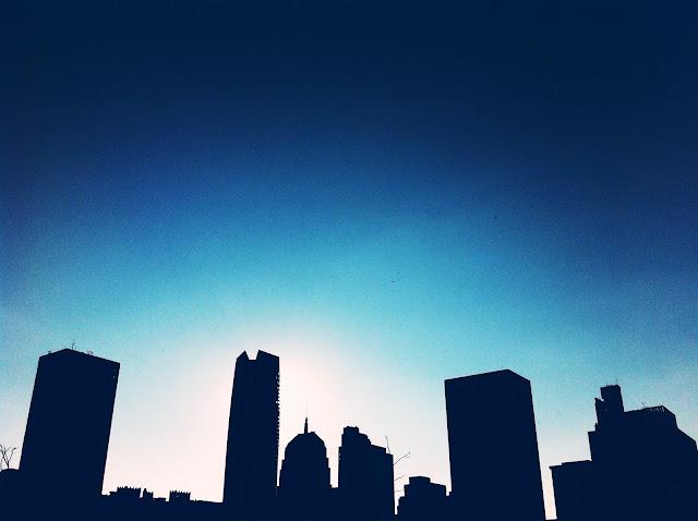 Oklahoma City Skyline View | brewedtogether.com