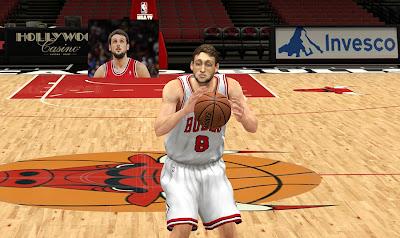 NBA 2K13 Marco Belinelli Cyberface Mod