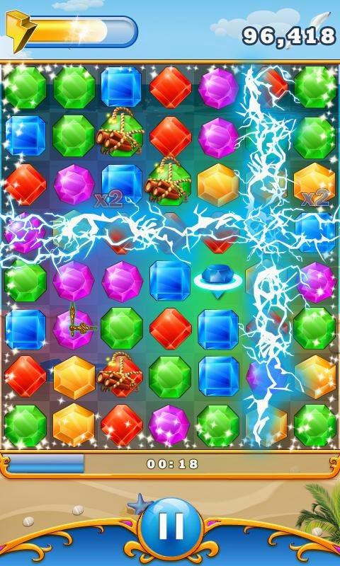 Elmas Patlatma (Diamond Blast) Android Apk Oyunu resimi 1