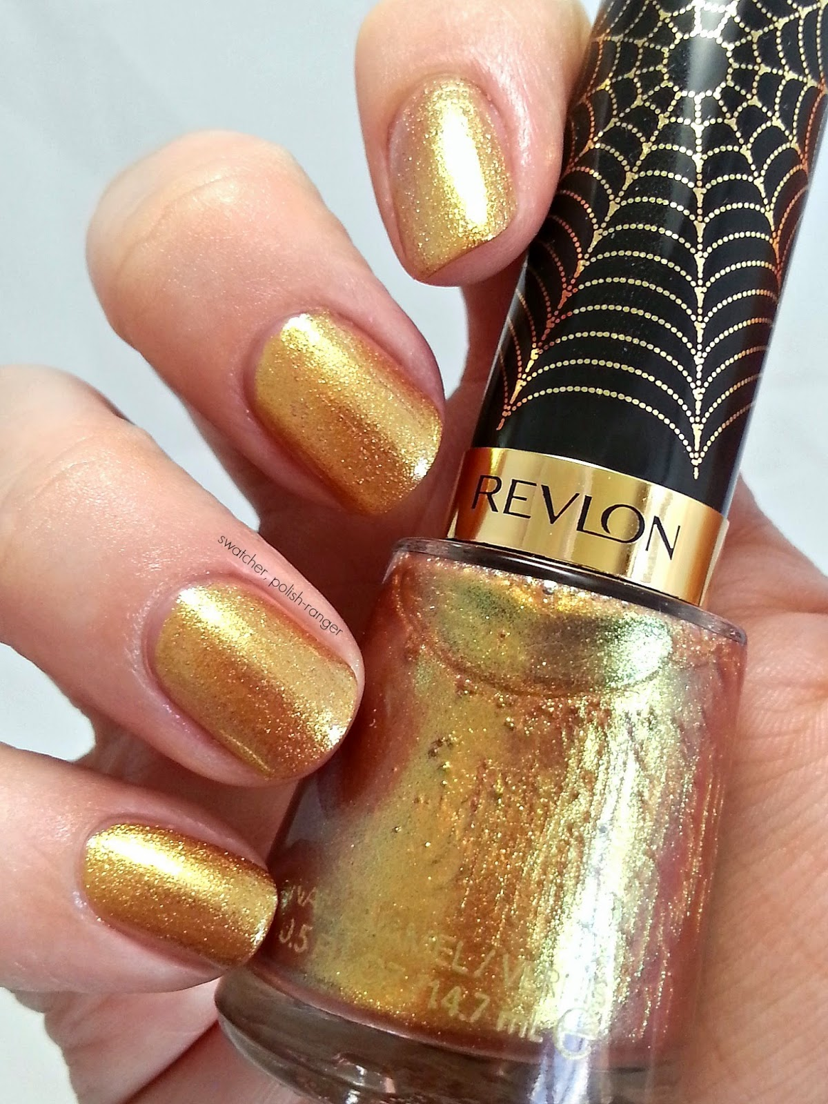 Revlon Electric Chrome Collection LE 1000 Volts swatch