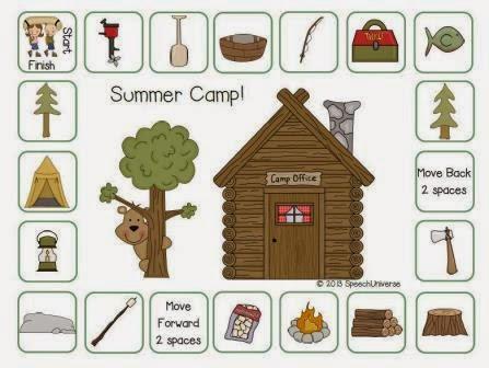 summer camp categorization milestone freebie. Black Bedroom Furniture Sets. Home Design Ideas