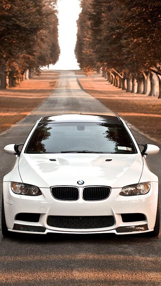 BMW M3 Branca  Galaxy Note HD Wallpaper