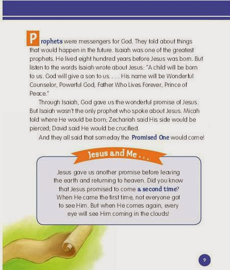 Jesus and Me Bible Storybook sample page 2