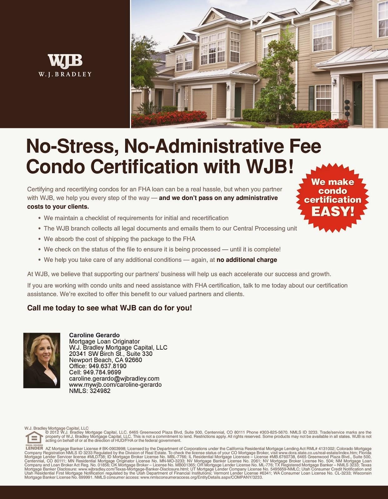 Mortgage Loans Caroline Gerardo Home : 05/2013