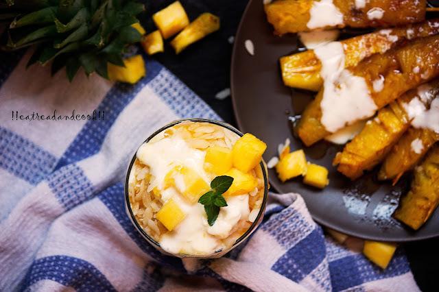 chire doi with caramelized pienapple recipe