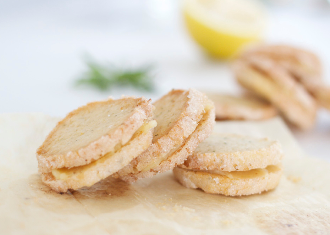 SHORTBREAD: Rosemary & Lemon Sandwich Cookies (Dairy Free and or ...