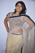 Actress Tanusha Photos in Saree at Present Love Audio-thumbnail-3