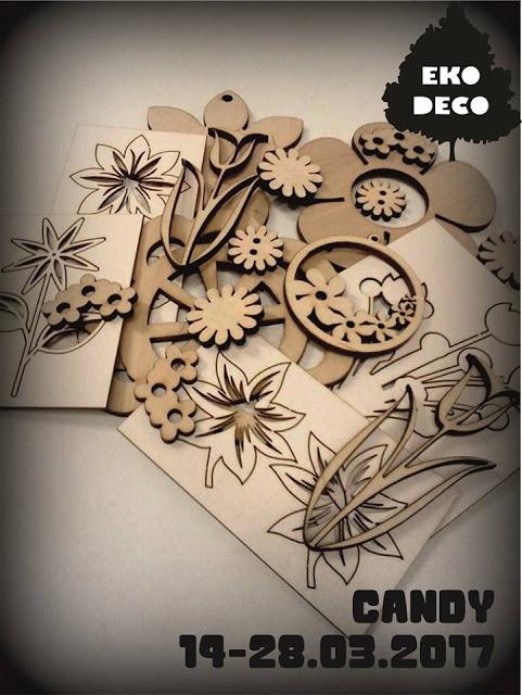 Candy w Eco Deco - Olga dekupażuje