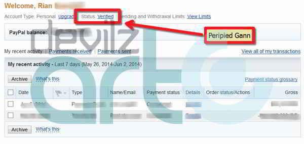 Cara Mudah Verifikasi Paypal