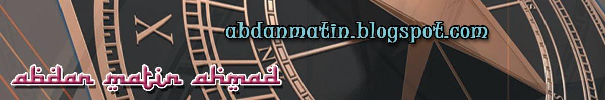 Abdan Matin Ahmad